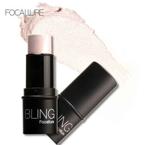 Focallure Glow Iluminator Highlighter 1pcs highlighter bronzer rods glow kit carry bright outline nasal shadow grooming haylaytar