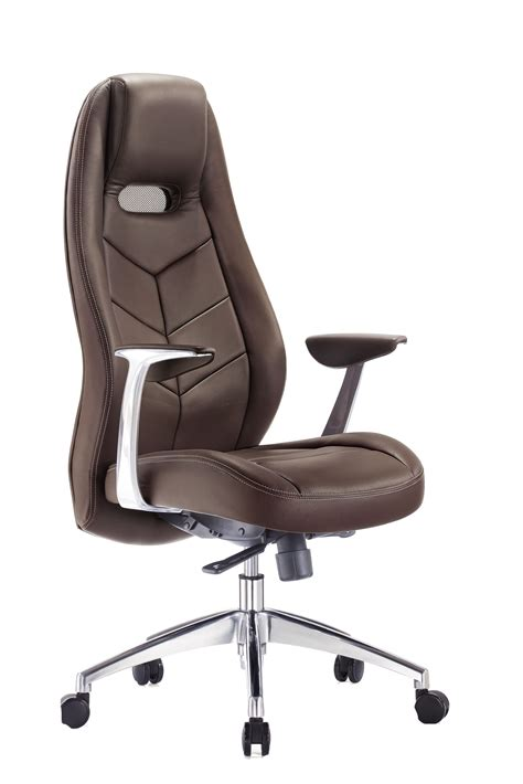 Home Computer Desk office 1 187 executive chair f102 pu brown