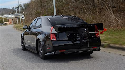 Mcginnis Cadillac by Rod Dynamic S Record Setting Back Halfed Cts V
