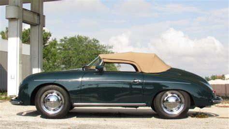 green porsche convertible porsche 356 convertible 1957 green for sale 118747665