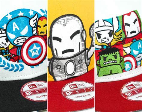 Po New Era Cap 9fifty X Tokidoki Marvel tokidoki x marvel x new era 9fifty snapback caps