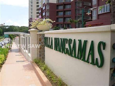 villa wangsamas layout condominium for sale in villa wangsamas wangsa maju by