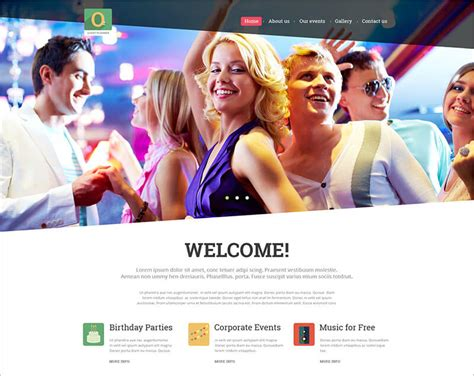 bootstrap templates for event management 14 event bootstrap themes templates free premium