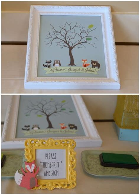 Alternatives To Baby Shower by Guest Books Woodland Baby Showers And Woodland Baby On