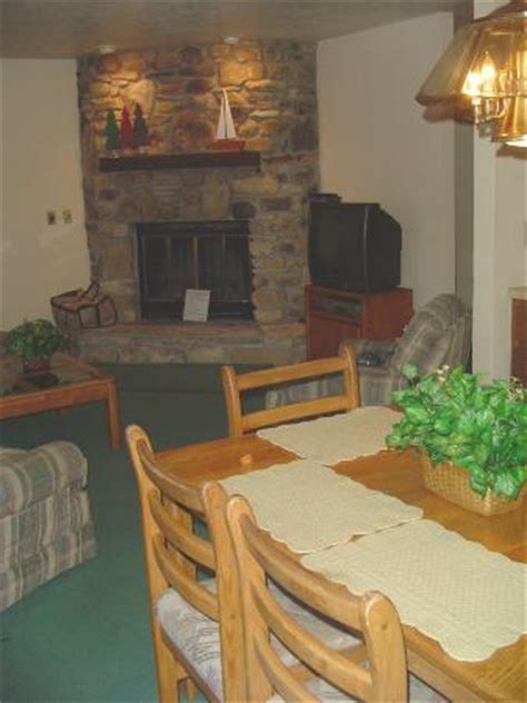 The Rushes Door County by Fieldstone Fireplace In The Living Room Dining Room