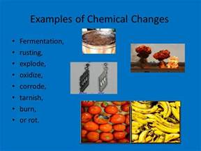 is color change a chemical change ch 3 matter properties and changes ppt