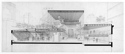 Tadao Ando Floor Plans Sections Archives Lines Amp Marks