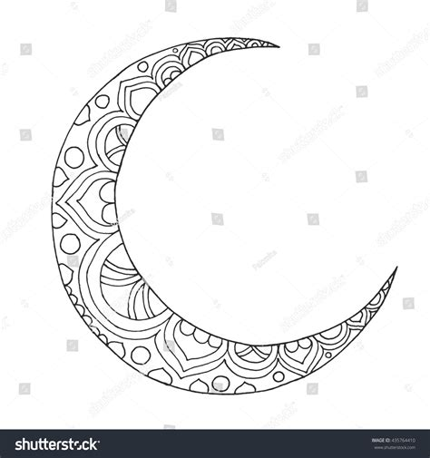 half sun coloring page crescent moon and sun drawing half moon coloring page
