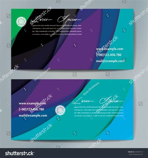 Business Card Size Cm