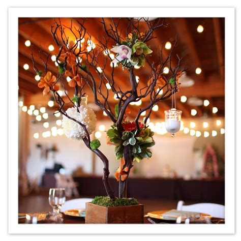 52 best tree centerpieces images on craft
