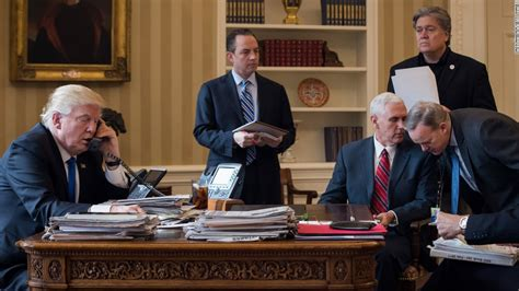 deception evidence reaches oval office pence spicer skirt around wiretapping claims cnn video
