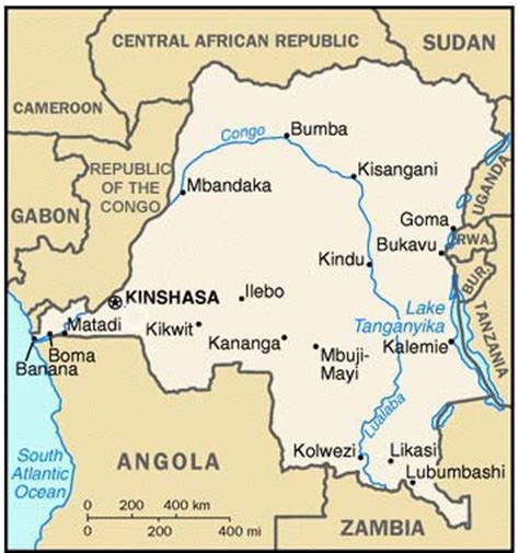 africa map congo river congo river map of africa