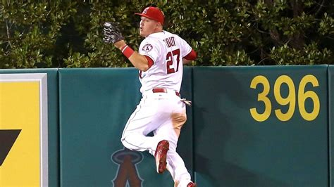 mike trout s greatest catch the of robbing a home run