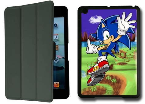 Does Sonic Have Gift Cards - sonic the hedgehog ipad mini black protective fold smart cover case cases covers
