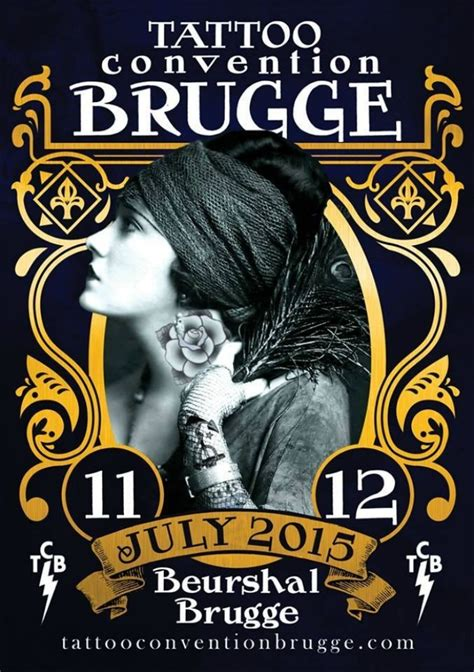 tattoo expo 2015 convention brugge july 2015
