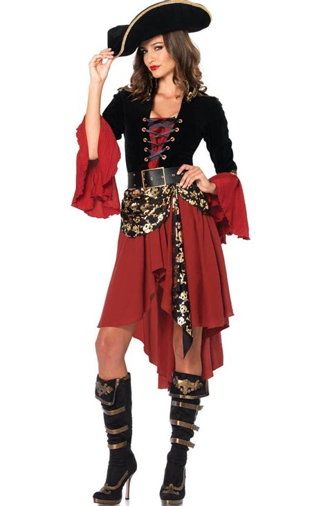 Pirate L by Pirate Wench Costume S Pirate Captain Costume