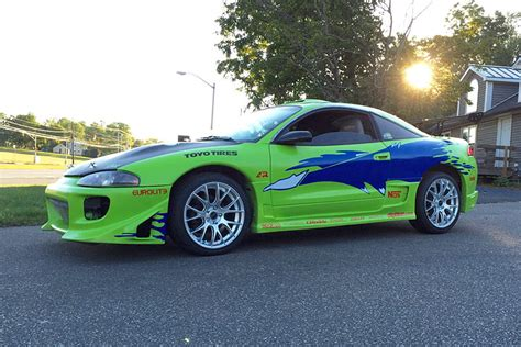 mitsubishi eclipse fast and furious fan turns mitsubishi eclipse into quot fast and furious quot tribute