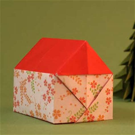 3d Origami House - pin origami house 3d on