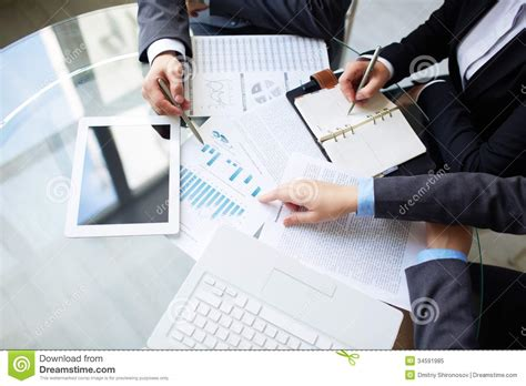 free work planning work stock image image of meeting business