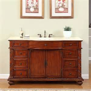 60 Single Sink Vanity Cabinet 60 Quot Perfecta Pa 104 Bathroom Vanity Single Sink Cabinet