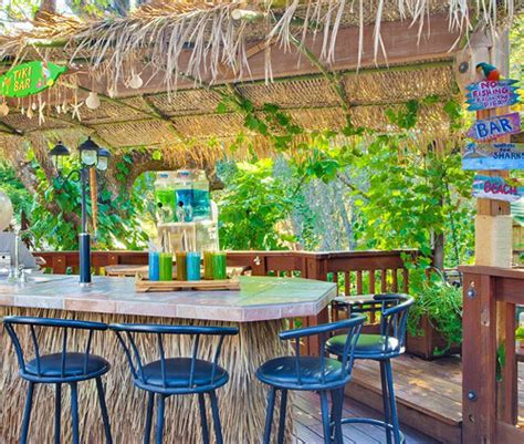 beach and tiki bar ideas for the home and backyard