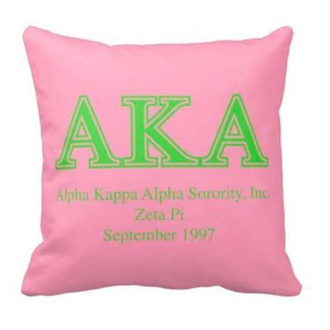 Sorority Pillow by Aka Personalized Sorority Pillow Alpha Kappa Alpha