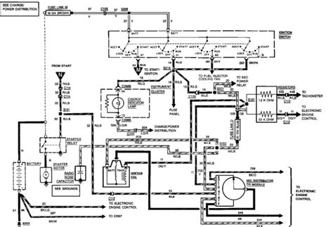 1989 ford bronco steering column wiring diagram