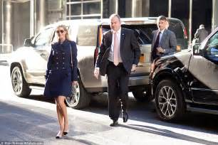 new family car service nyc ivanka bundles up against the new york chill in a