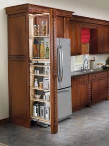 Kitchen Cabinets Pull Out Pantry tall filler pull out with adjustable shelves 39 5 quot cabinets com