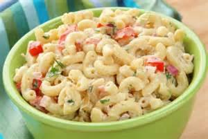 Creamy Pasta Salad Recipes Creamy Pasta Salad I Shall Eat
