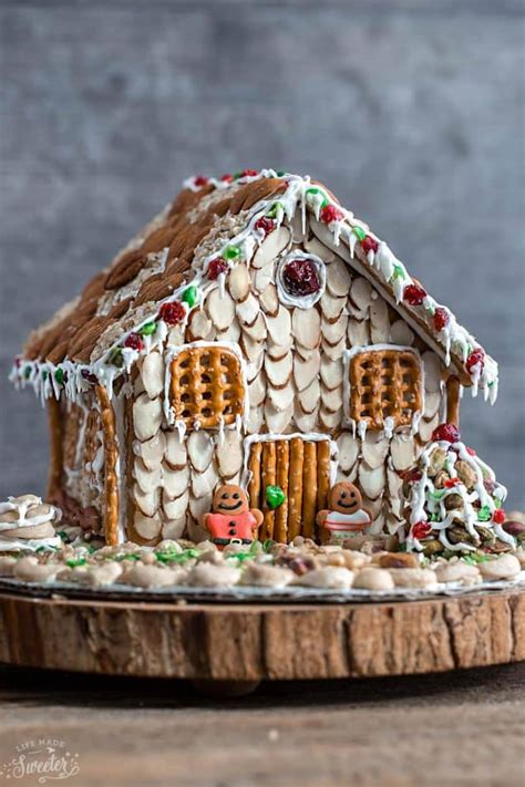 easy gingerbread house easy no bake gingerbread house with nuts video life made sweeter