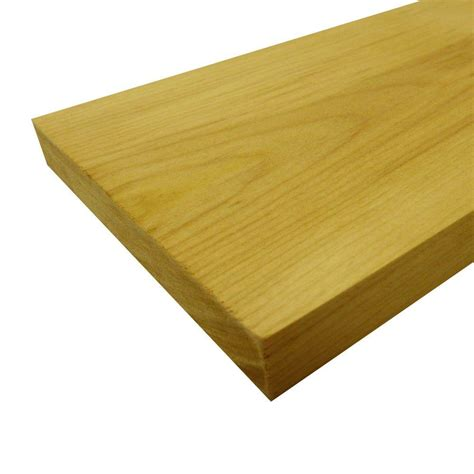 Slat Board Home Depot by 1 In X 4 In X 4 5 Ft Pine Bed Slat Board 7 Pack
