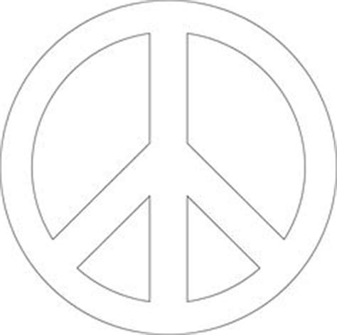 peace sign template t shirt stencils on flower stencils stencil