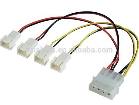 3 pin molex connector fan 4pin molex to 4x 3 pin fan cable fan power splitter cable