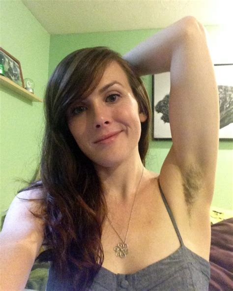 social media shows off hairy female underarms as women