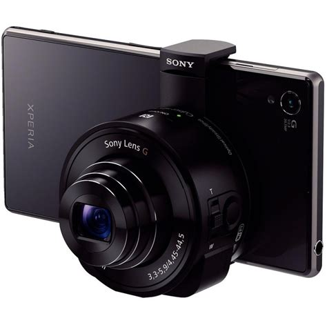 Sony Qx 10 sony dsc qx10 must kompaktkaamerad photopoint