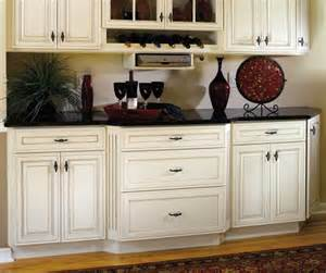 off white cabinets decora cabinetry with black kitchen island