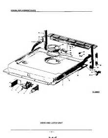 Kitchenaid Dishwasher Parts Store Door And Latch Diagram Parts List For Model Kds20a