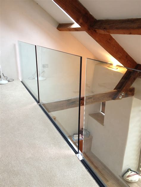 glass banister uk side fixed frameless glass balustrade morris fabrications ltd architectural