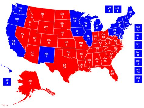 the electoral map presidential race ratings and swing the rcp blog