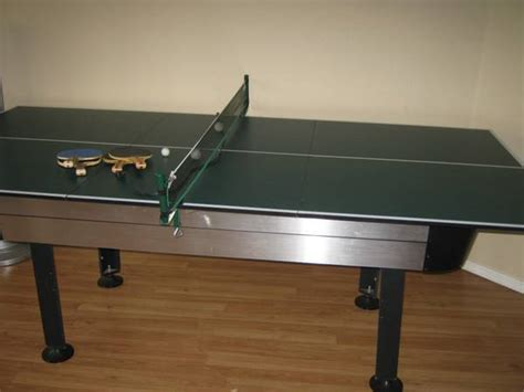 sportcraft 3 in 1 flip table sportcraft air hockey ping pong table espotted