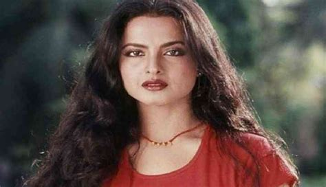 bollywood actress ki birthday happy birthday rekha sindoor mangalsutra and a forced