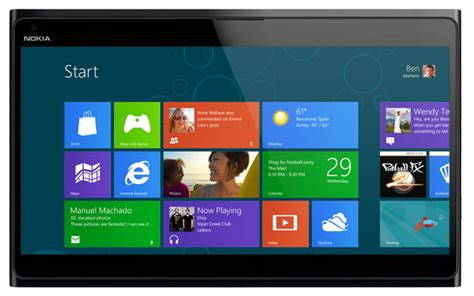 nokia windows 8 tablet release date and specs rumored on