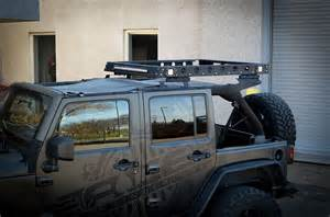 ace jk 4 door top roof rack