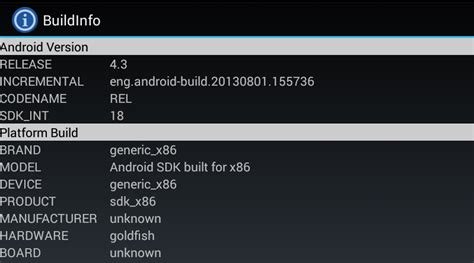 android gsf id build info android apps on play