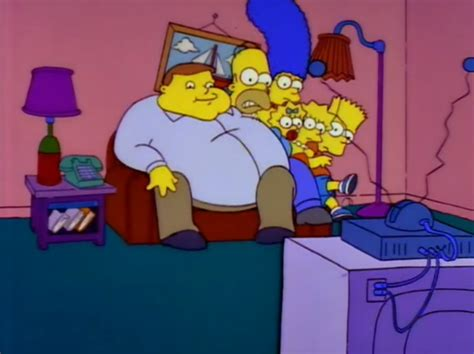 couch gag simpsons fat man couch gag simpsons wiki