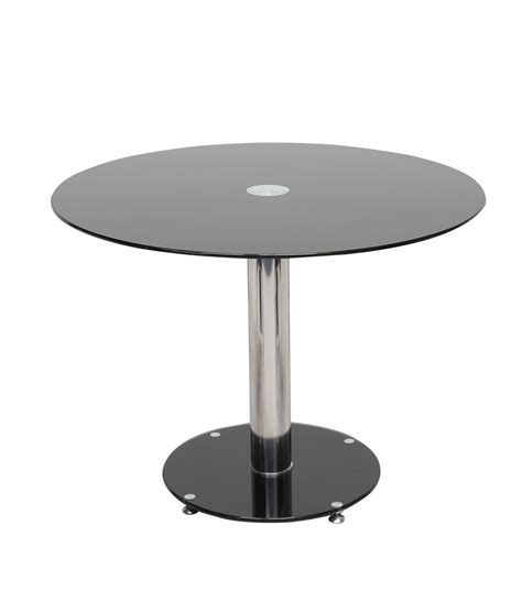 Small Black Glass Dining Table Manchester Furniture Supplies