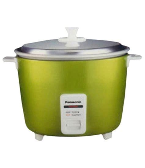 Rice Cooker Panasonic Panasonic 1 8 Ltr Panasonic Sr Wa18 Green Rice Cooker Price In India Buy Panasonic 1 8 Ltr