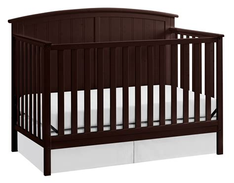 Storkcraft Steveston 4 In 1 Convertible Crib Espresso Storkcraft Convertible Crib