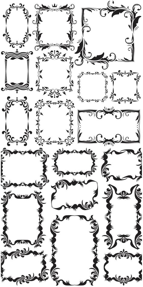how to create a vector decorative frame in illustrator vintage decorative frames vector free download vectorpicfree